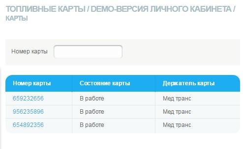 Личный кабинет Газпромнефти
