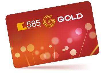 Золотая бонусная карта 585Gold