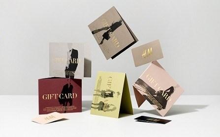 Подарочные карты магазина H&M